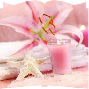 candle_flower_pink